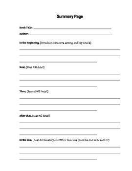 Reading Group Packet