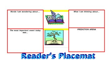 Reading Group Place Mat