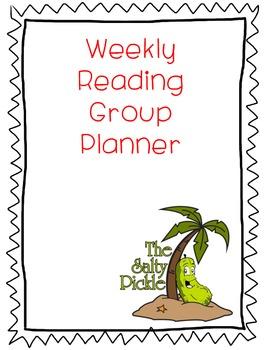 Reading Group Planner/Organizer