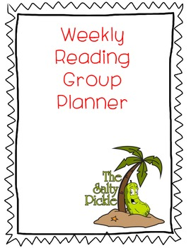 Reading Group Planner/Organizer