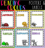 Reading Group Posters & Labels- ANIMALS