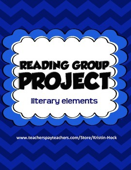 Reading Group Project - literary elements
