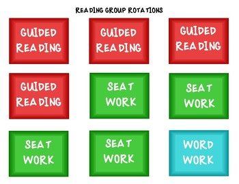 Reading Group Rotations