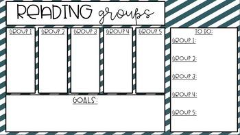 {GROWING BUNDLE} Reading Group Timer Slides {Editable}