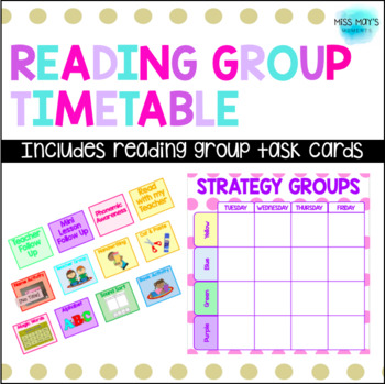 Reading Group Timetable Organiser