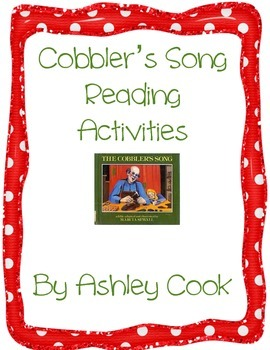 Reading Activities  For Cobbler's Song