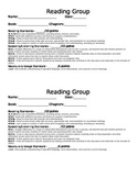 Reading Group checklist