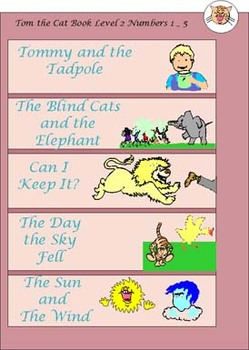Reading Groups Books - Tom the Cat Stories Level Two