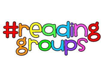 Reading Groups Heading #readinggroups