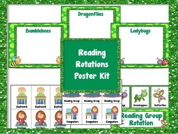 Reading Groups Poster Kit Bug Theme