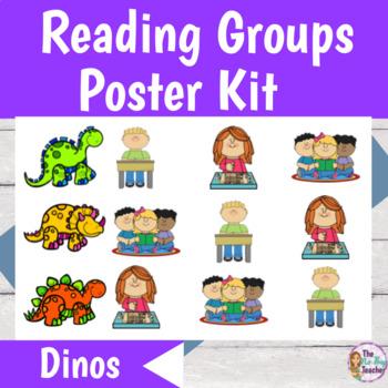 Reading Groups Poster Kit Dinosaur Theme