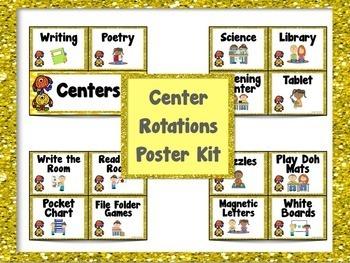 Reading Groups Poster Kit Monster Theme