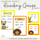 Reading Groups - Posters & Labels | Australian Animals