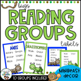Reading Groups - Posters & Labels | Bugs & Minibeasts