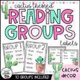 Reading Groups - Posters & Labels | Cactus