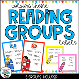 Reading Groups - Posters & Labels | Colours
