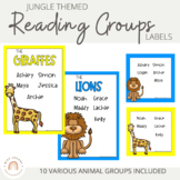 Reading Groups - Posters & Labels | Jungle Animals