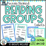 Reading Groups - Posters & Labels | Sea Creatures