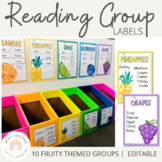 Reading Groups - Posters & Labels | Tropical Fruits