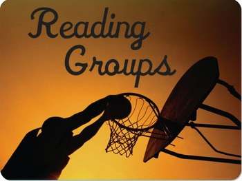 Reading Groups Sports-Themed Magnet
