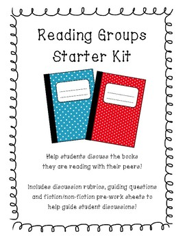 Reading Groups Starter Kit
