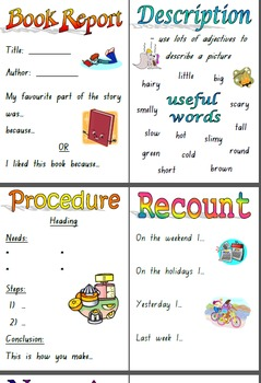 Reading Groups Writing Folders Printables