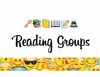 Reading Groups sign