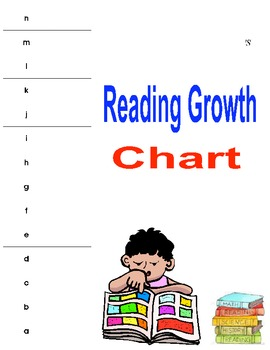 Reading Growth Chart/ Reading Strategy Goals Packet
