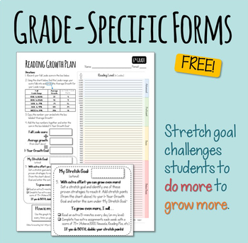 Reading Growth Plan - Target and Track Reading Progress