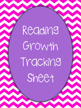 Reading Growth Tracking Sheet