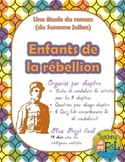 Reading Guide / Novel Study - Enfants de la rébellion by Susanne Julien