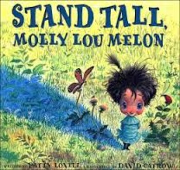 Reading Guide Stand Tall Molly Lou Melon cause/effect (Com Core Aligned)