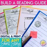 Reading Guide for ANY Short Story or Novel Digital & Print