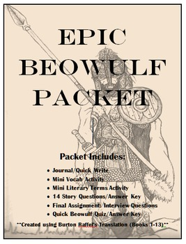 Reading Guide for Burton Raffel's translation of Beowulf