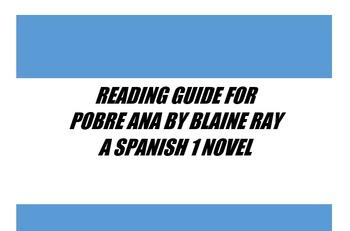Reading Guide for Pobre Ana