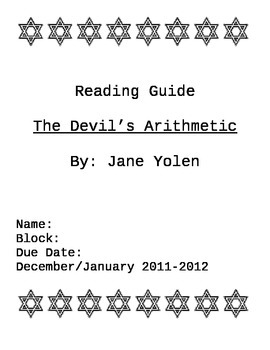 Reading Guide for The Devil's Arithmetic by Jane Yolen