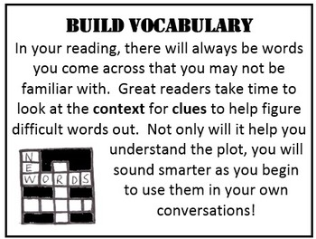 Reading Habits: Bulletin Board or Wall Posters
