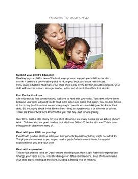 Reading Handout for Parents