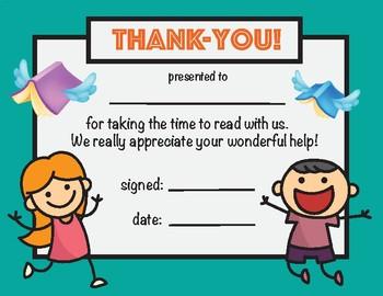 Reading Helper Award