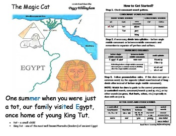 MAGIC CAT Reading Helper SAMPLE - Why does it say that?