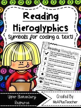 Reading Hieroglypics Poster