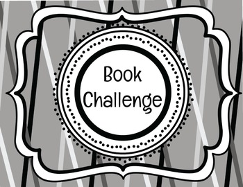 Reading Homework Book Challenge