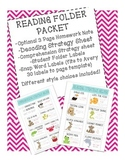 Reading Homework Packet - Guided Reading Strategy Tools