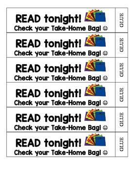 Reading Homework Reminder Bracelet