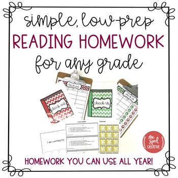 Reading Homework Resource – Easy, Year-Round Routine for All Abilities