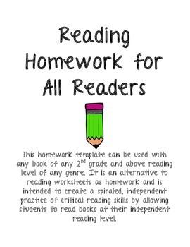Reading Homework for All Readers