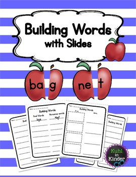 Reading Horizons - Building Words with Slides - Apples