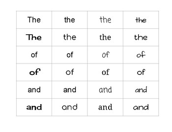 Reading Horizons MCW 1 Concept of Print/Word Discrimination