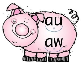 Reading Horizons Special Vowel Sounds - AKA Pigpen Vowels
