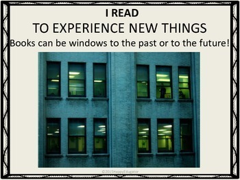 Back to School Reading Posters: 12 Great Reasons to Read a Book!